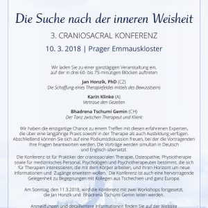 CranioSacral Konferenz Prag